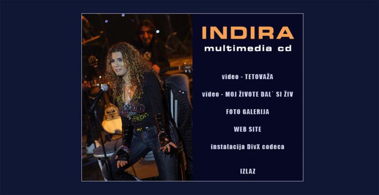 """Indira Radić """"Unplugged - The Best Of"""" CD+DVD"""