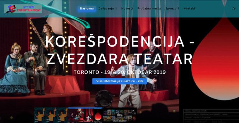 System Entertainment, Toronto